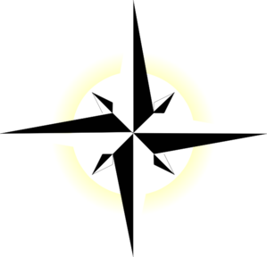 North Star Yellow clip art - vector clip art online, royalty free ...