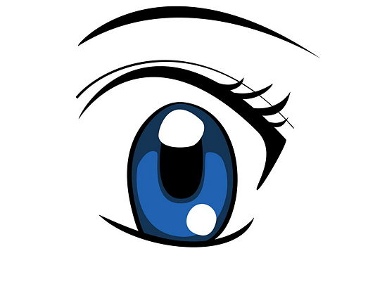 eyes looking down clipart - photo #44