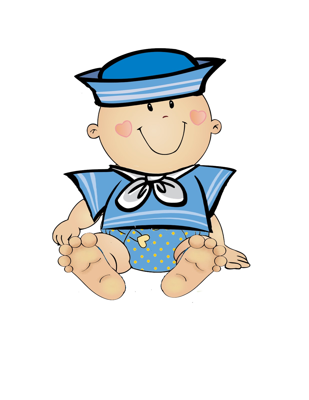 Clipart Baby Shower Boy - ClipArt Best