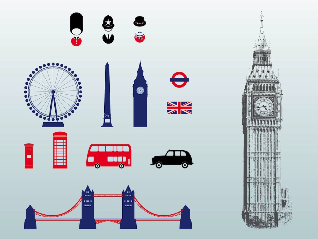 Line Drawing Tattoos London : Big ben silhouette clip art of london clipart