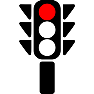 Pics For > Traffic Light Red Clipart