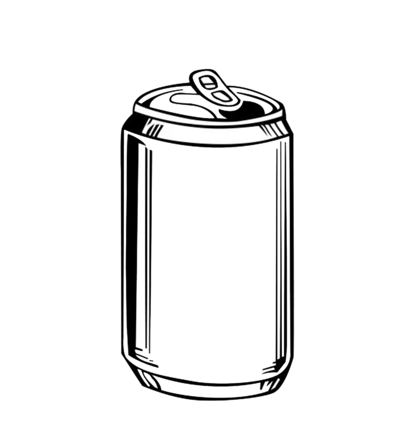 Beer Can Outline - ClipArt Best - ClipArt Best