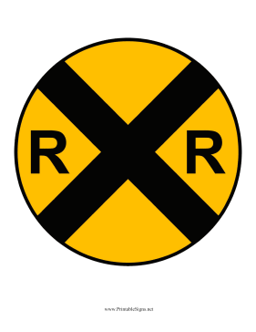 The Meaning Of Railroad Crossing Sign