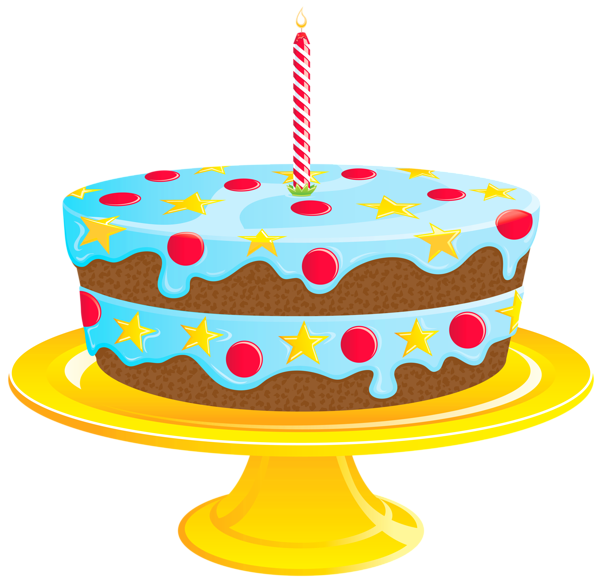 Blue Birthday Cake PNG Clipart - ClipArt Best - ClipArt Best