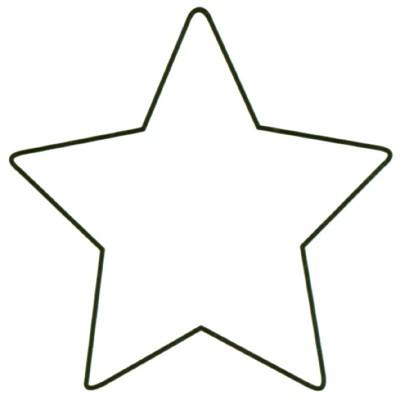 Large Blank Star