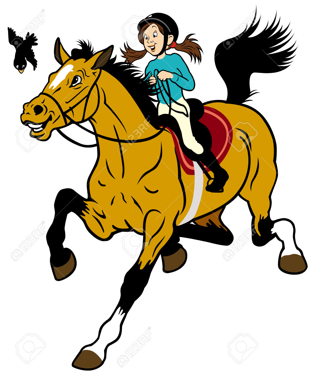 Horseback Riding Images Clipart Best