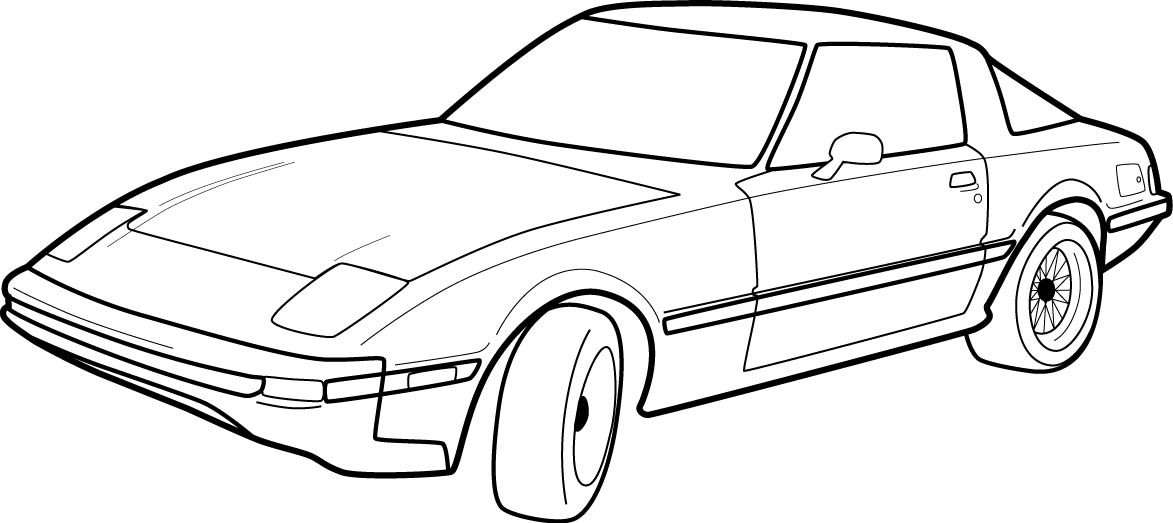 Car Outline Drawing - ClipArt Best - ClipArt Best