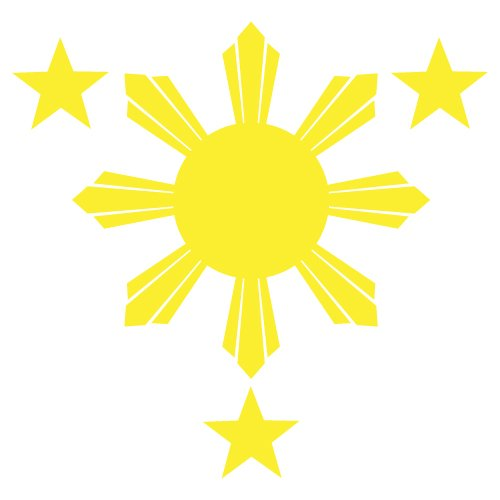 philippines flag sun clipart best