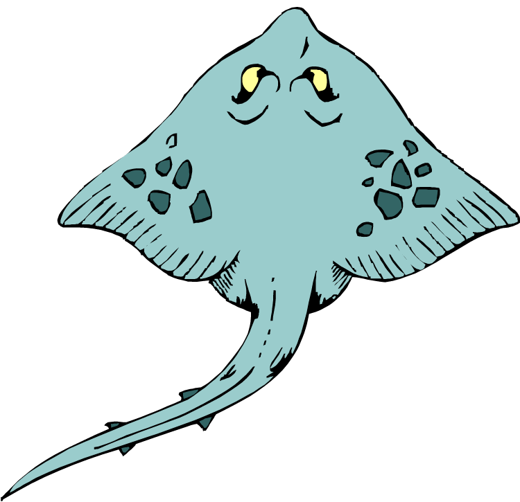 Clip Art Stingray Clipart free stingray clipart best best