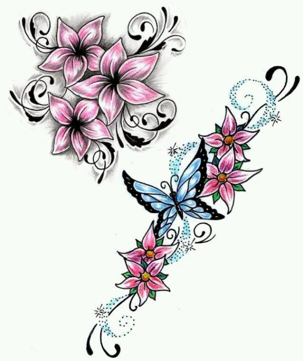 1000+ images about Flower tattoo ideas