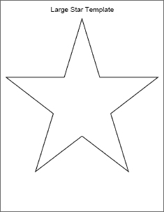 Primitive Star Stencil Printable - ClipArt Best