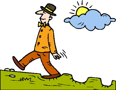 Going Out For Long Walks Clipart - ClipArt Best