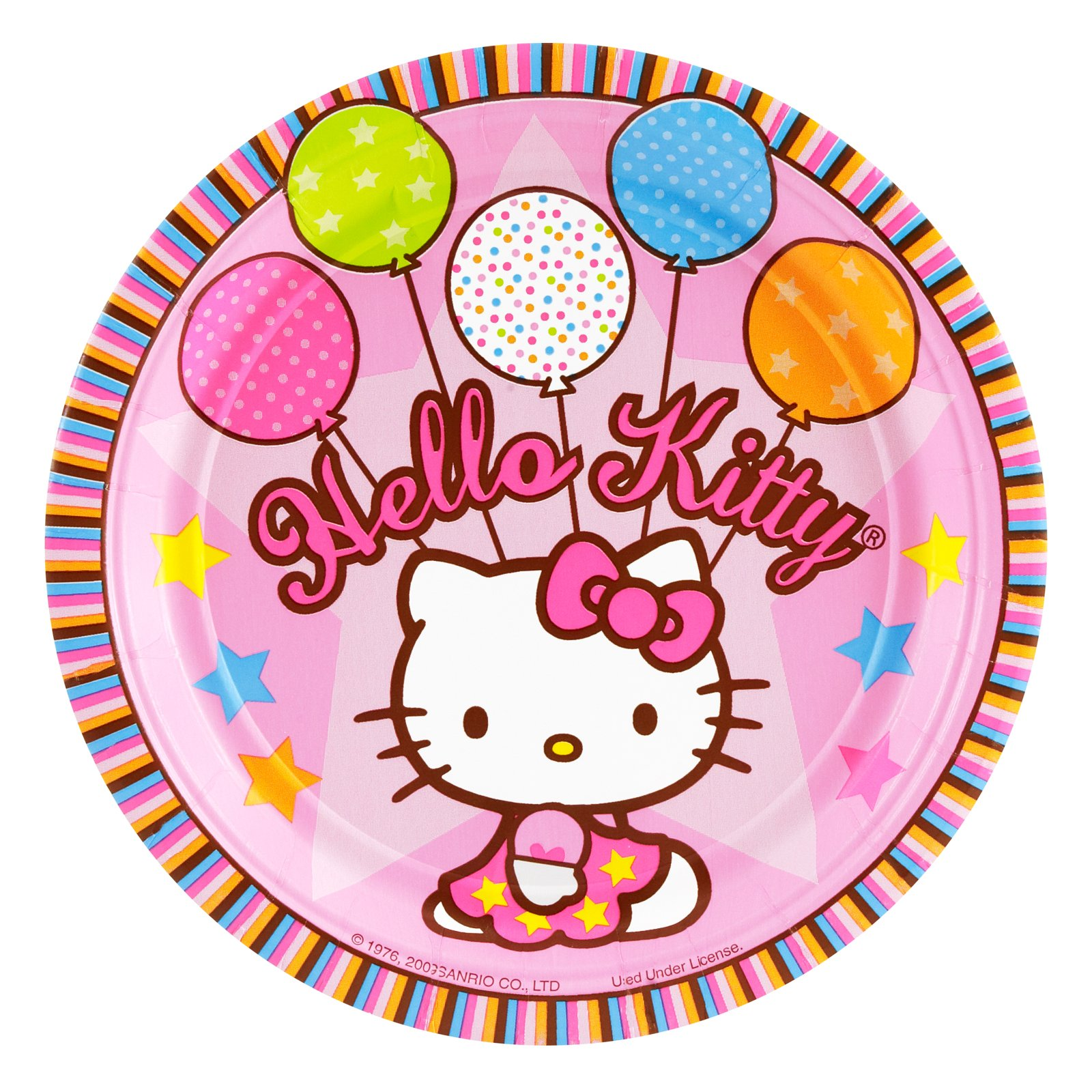 Hello Kitty With Balloons Images