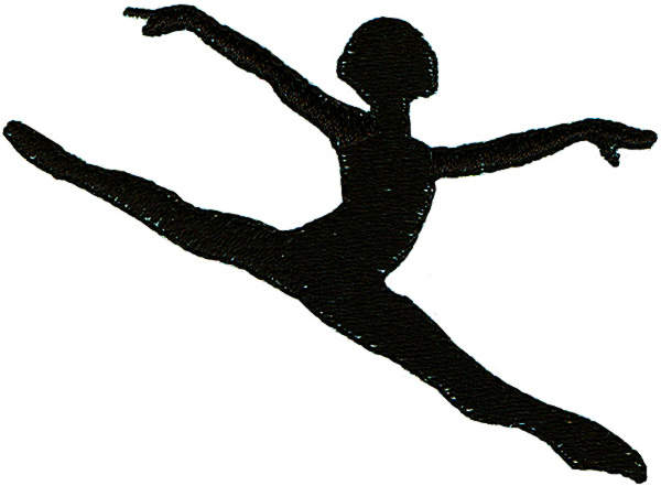 Dance Silhouette Leap - ClipArt Best