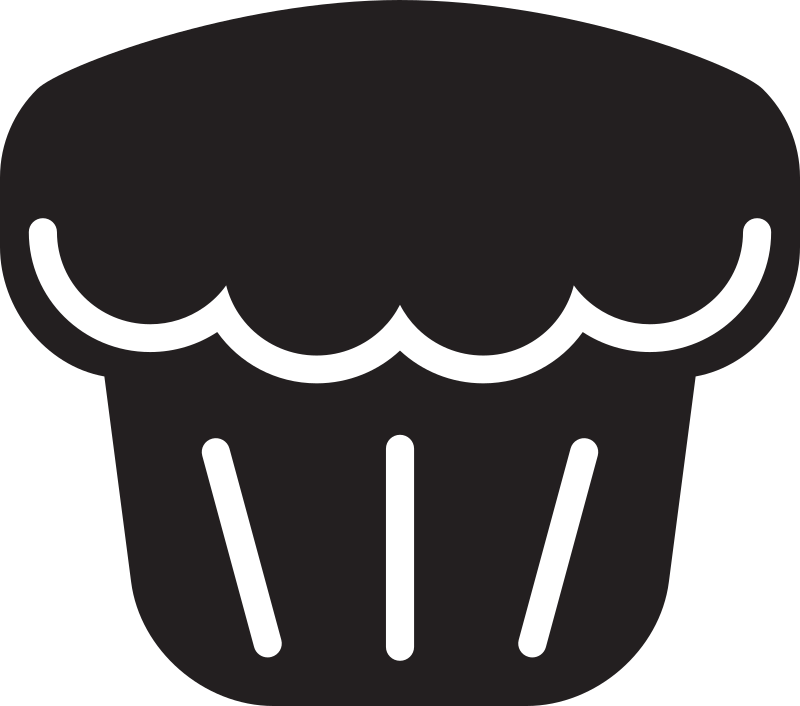 Clipart - Kitchen Icon - Muffin
