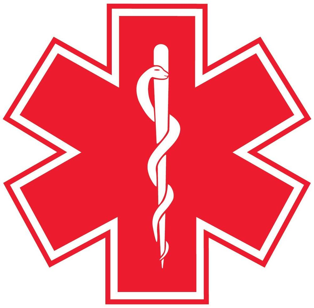 Star Of Life Red