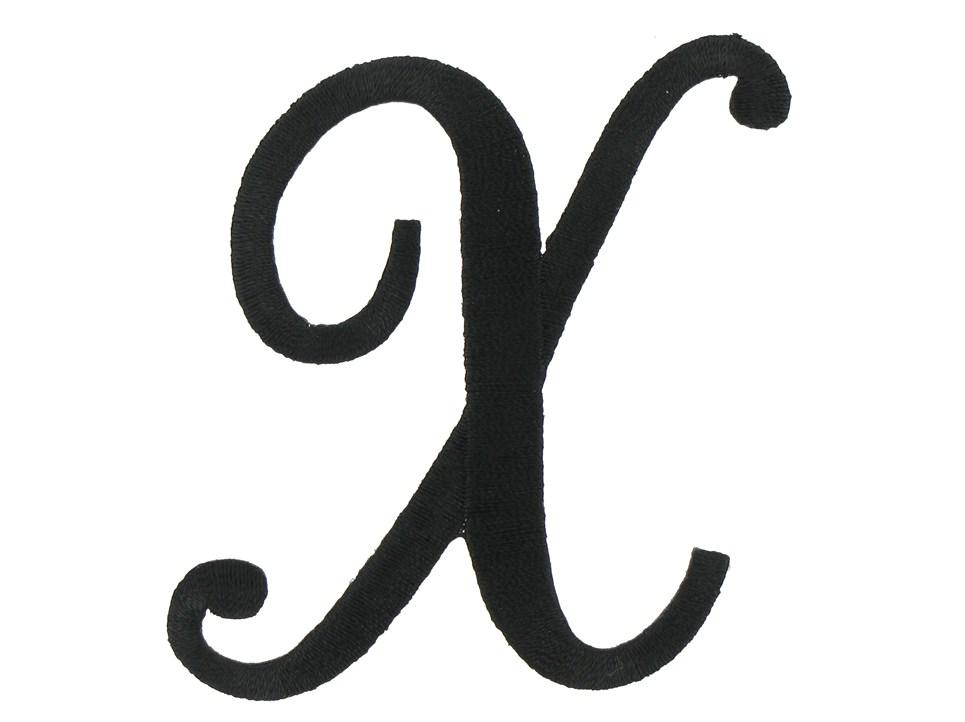 Script Black Letter X