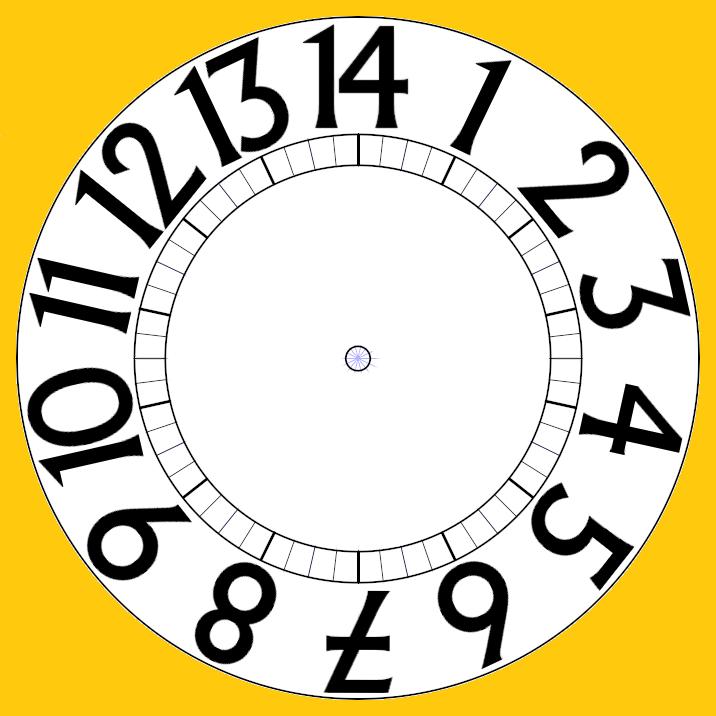 Free Clip Art Clock Hands