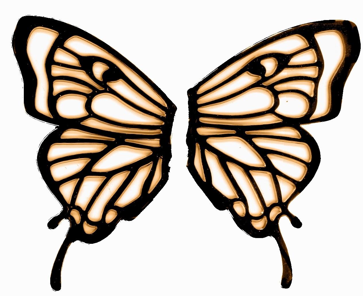 Butterfly Wings Design - ClipArt Best