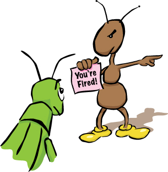 A Grasshopper And An Ant Cartoon - ClipArt Best