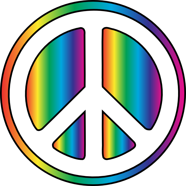 Clip Art Peace Sign Clipart free peace sign clip art clipart best rainbow scallywag peacesymbol org symbol peace