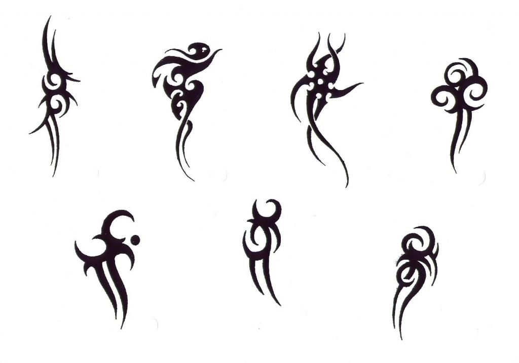 Рисунки сложные татуировки