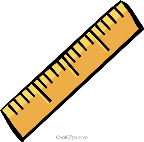 Ruler clipart no background