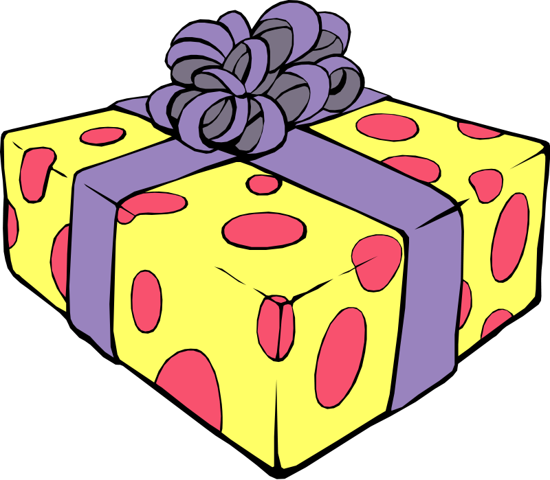 Clip Art Happy Birthday Gift - ClipArt Best