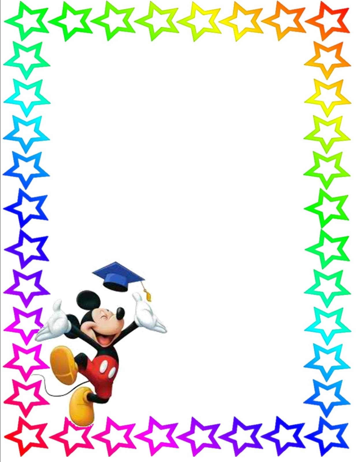 Cartoon Character Border Design : Free printable letter borders clipart best