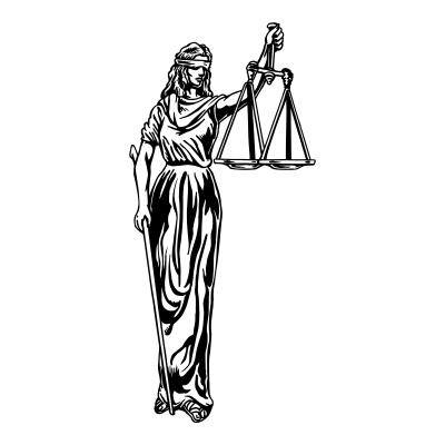Justice Is Blind Statue - ClipArt Best