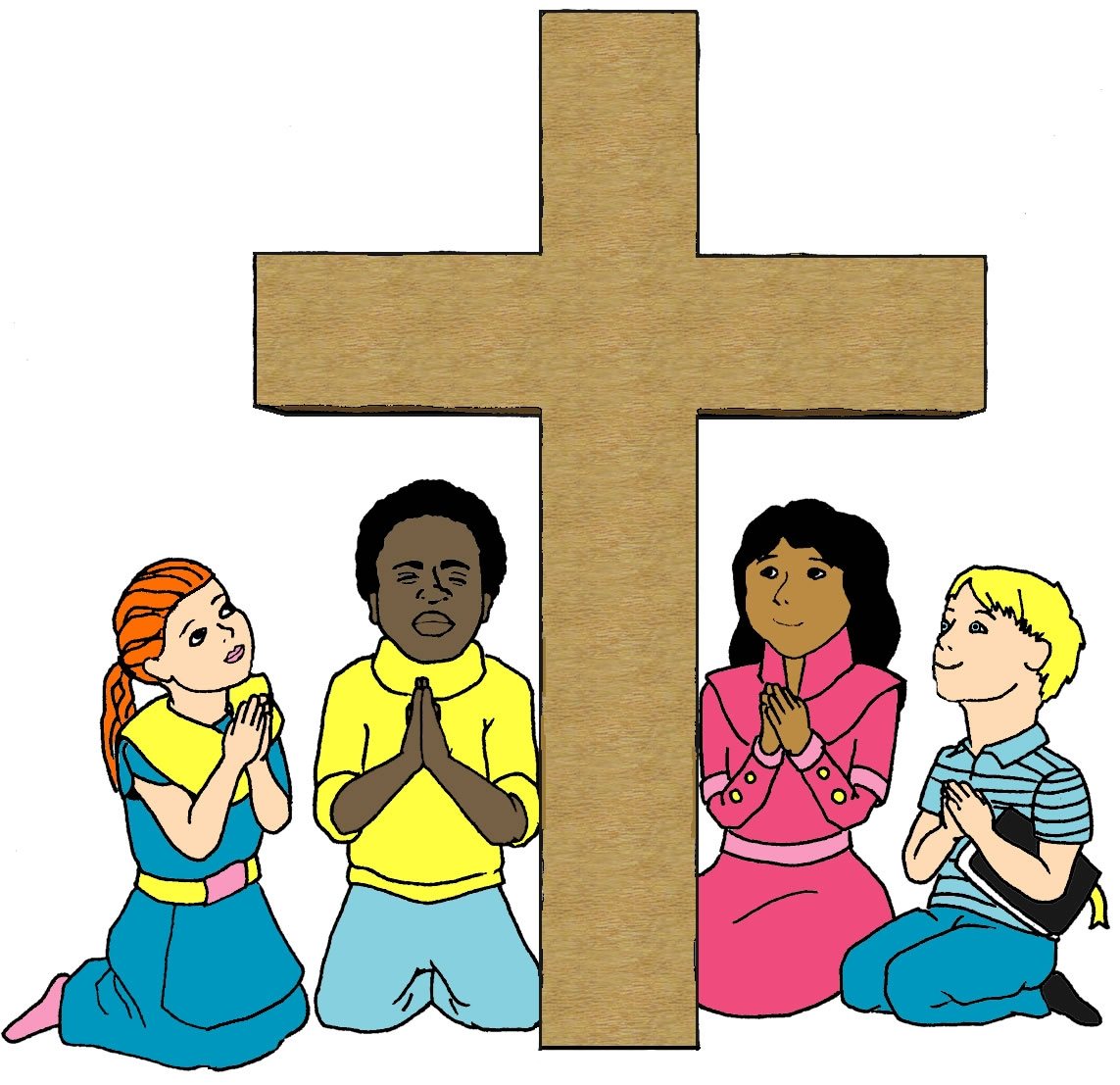 Jesus Deah On The Cross Kids Story