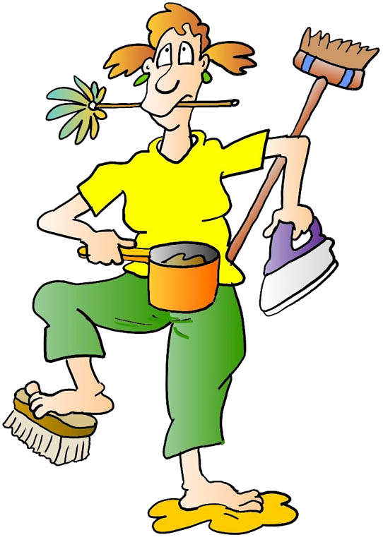 House Cleaning Cartoons - ClipArt Best