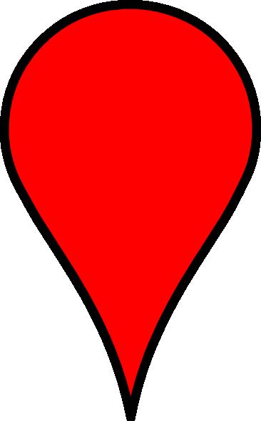 Google Maps Icon - Blank clip art - vector clip art online ...