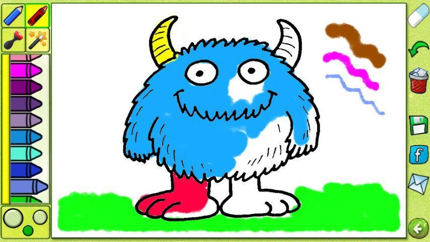 Cartoon Coloring Book