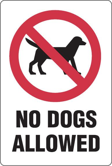 Juicy image intended for no pets allowed sign free printable
