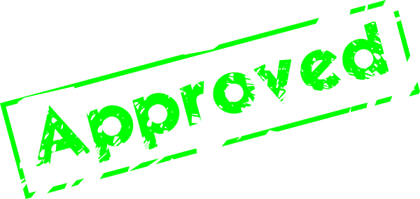 Approved Stamp - ClipArt Best