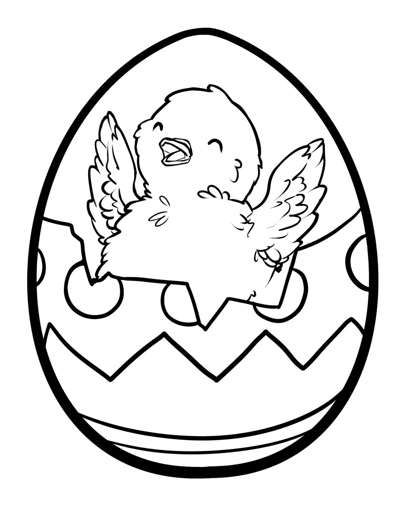 egg coloring pages coloringmates