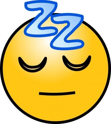 Sleep Clipart Zzz Snoring sleeping zz smiley