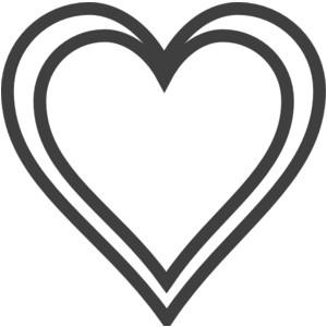 Double Heart Clipart - ClipArt Best