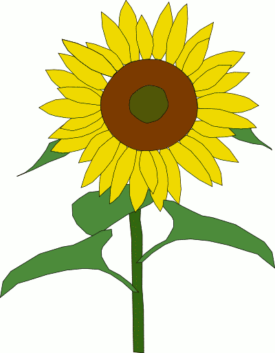 Sunflower Clipart Png Free Sunflower Clipart