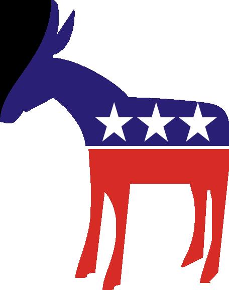 Democratic Party Donkey Clip Art