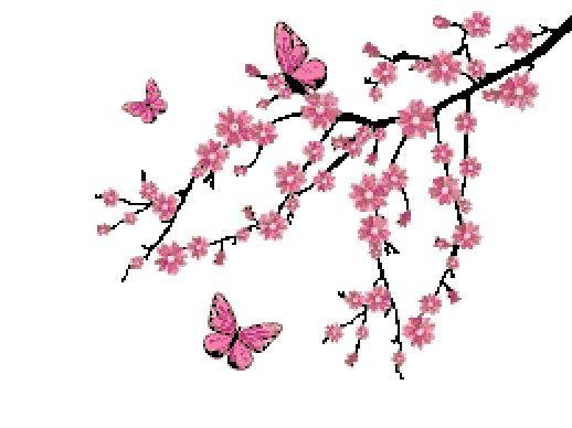 Sakura Embroidery Designs