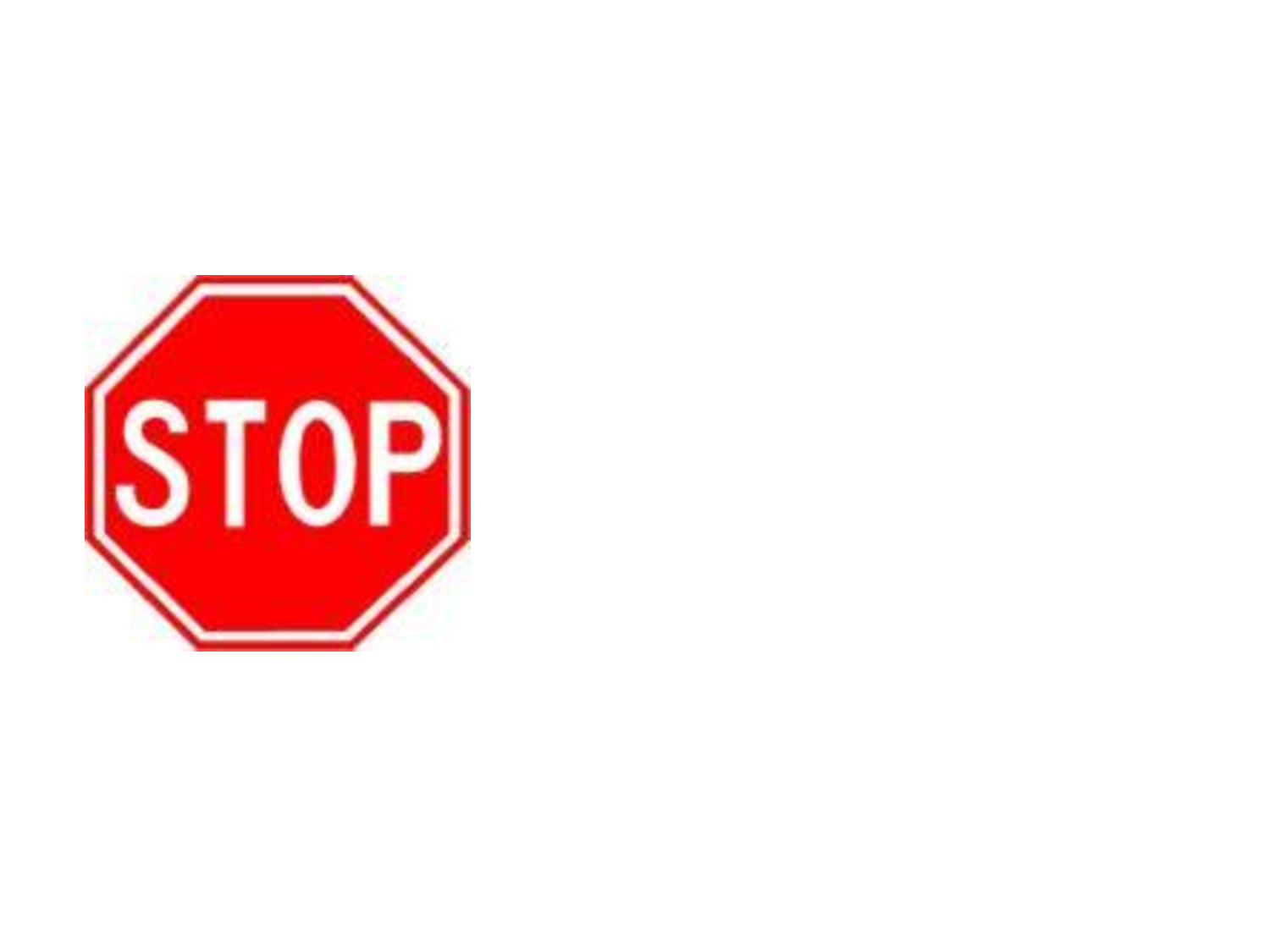 This is an image of Witty Printable Picture of a Stop Sign