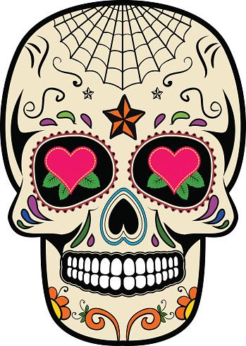 sugar skull clipart clipart best sugar skull vector art sugar skull vector free