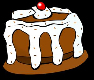 Yummy Cake Clipart : Chocolate Cake clip art - vector clip art online, royalty ...