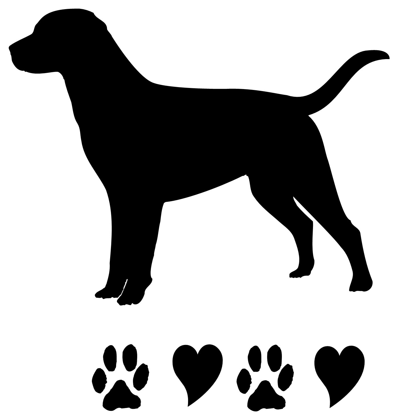 28 black lab silhouette clip art free cliparts that you can download ...