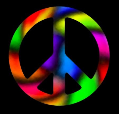 Colorful Peace Logo - ClipArt Best