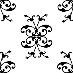 filigree design clip art clipart best