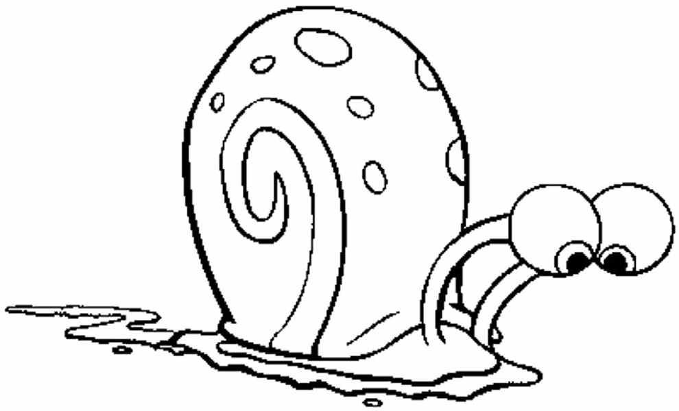 burned turbo snails coloring pages - photo#35