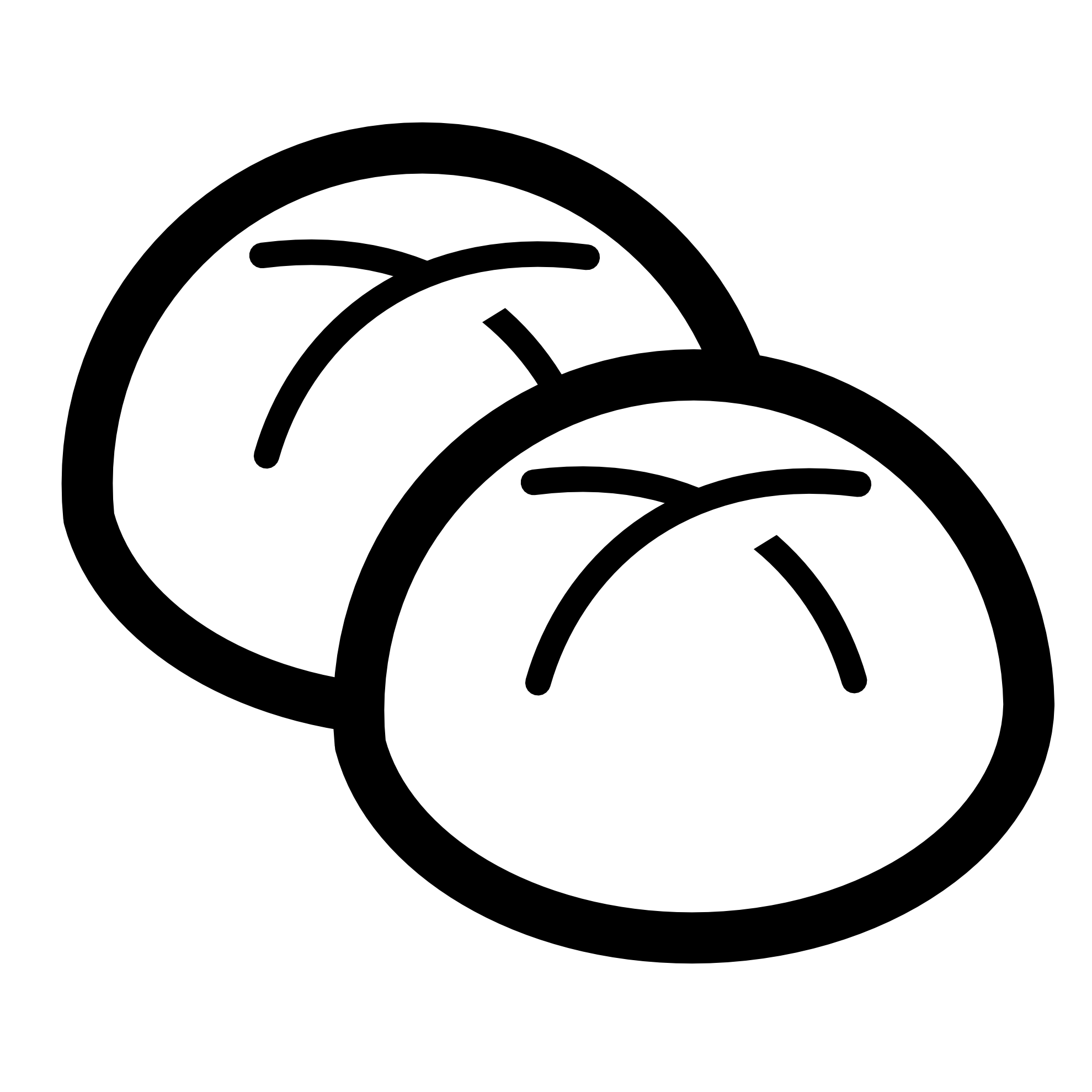 Baguette Black And White Buns Black White Line Art